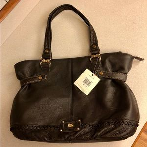 NEW The Sak Brown Leather Purse